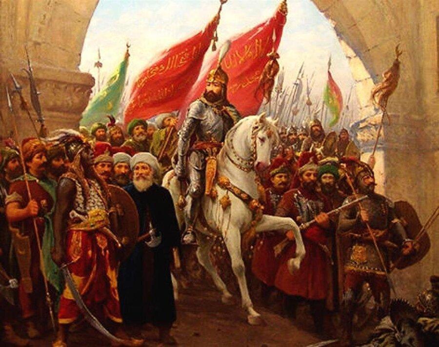 İstanbul fethini anlatan tasvir