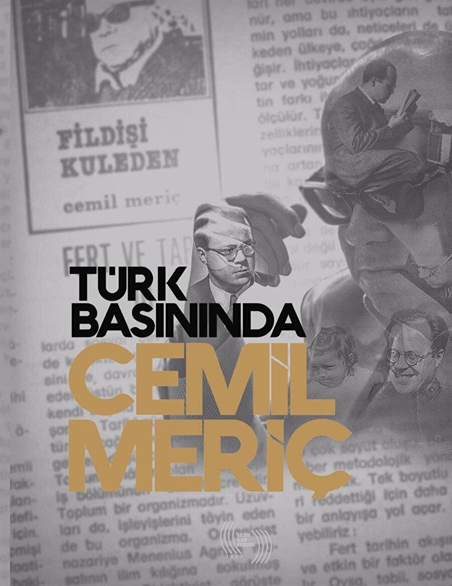 Türk Basınında Cemil Meriç kitap kapağı