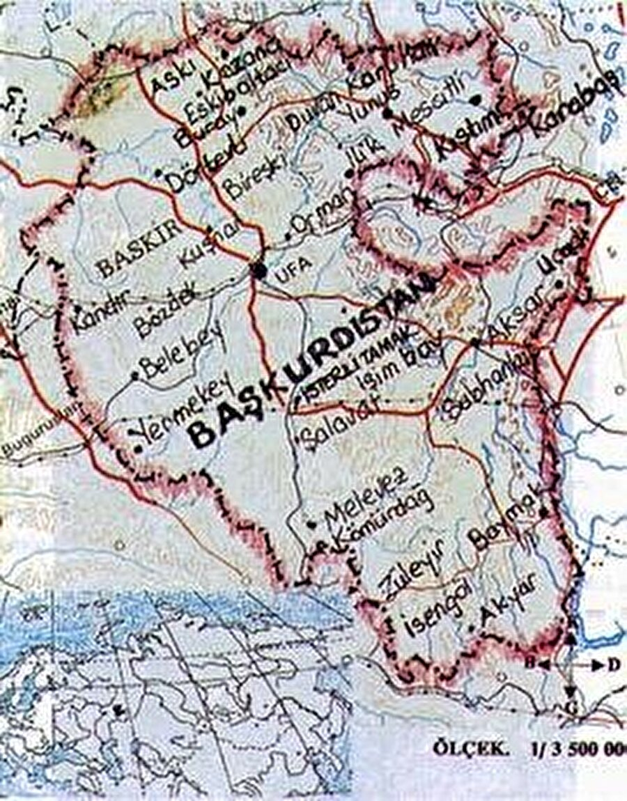 Başkent: Ufa Nüfus: 4.192.300 Yüzölçümü: 143.600 km² Dil: Başkurtça Din: İslamiyet
