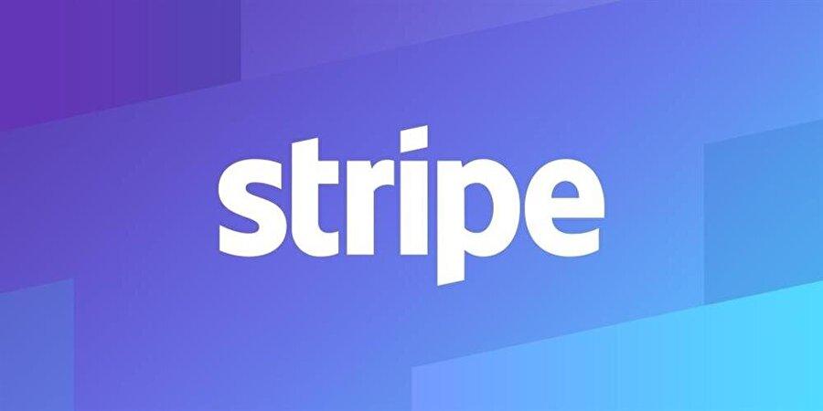 Stripe'ın uygulama logosu. (Biraz tekdüze sanki.)