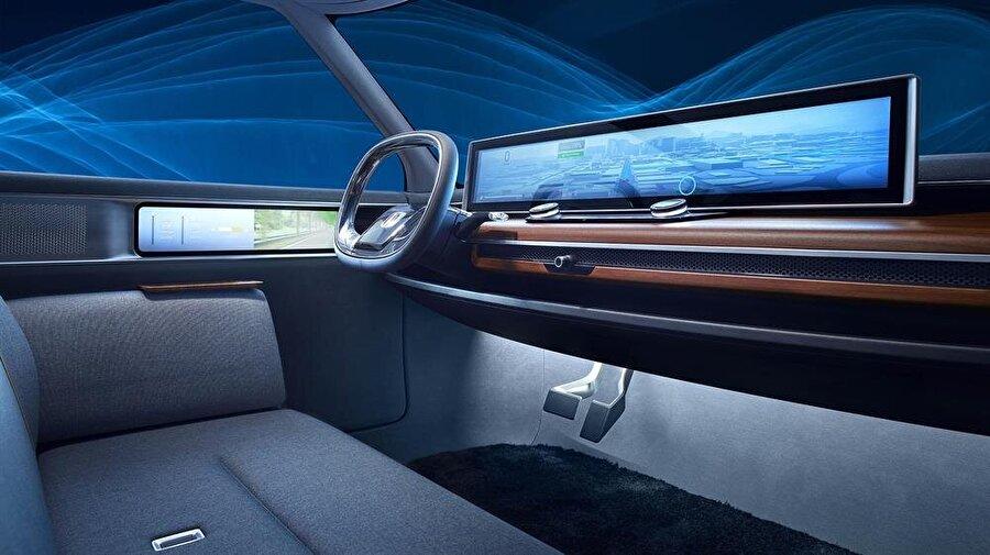 Sıra dışı kabin tasarımıyla dikkat çeken Honda Urban EV konseptinin 2019'da daha gerçekçi bir iç dizaynla karşımıza çıkması bekleniyor.