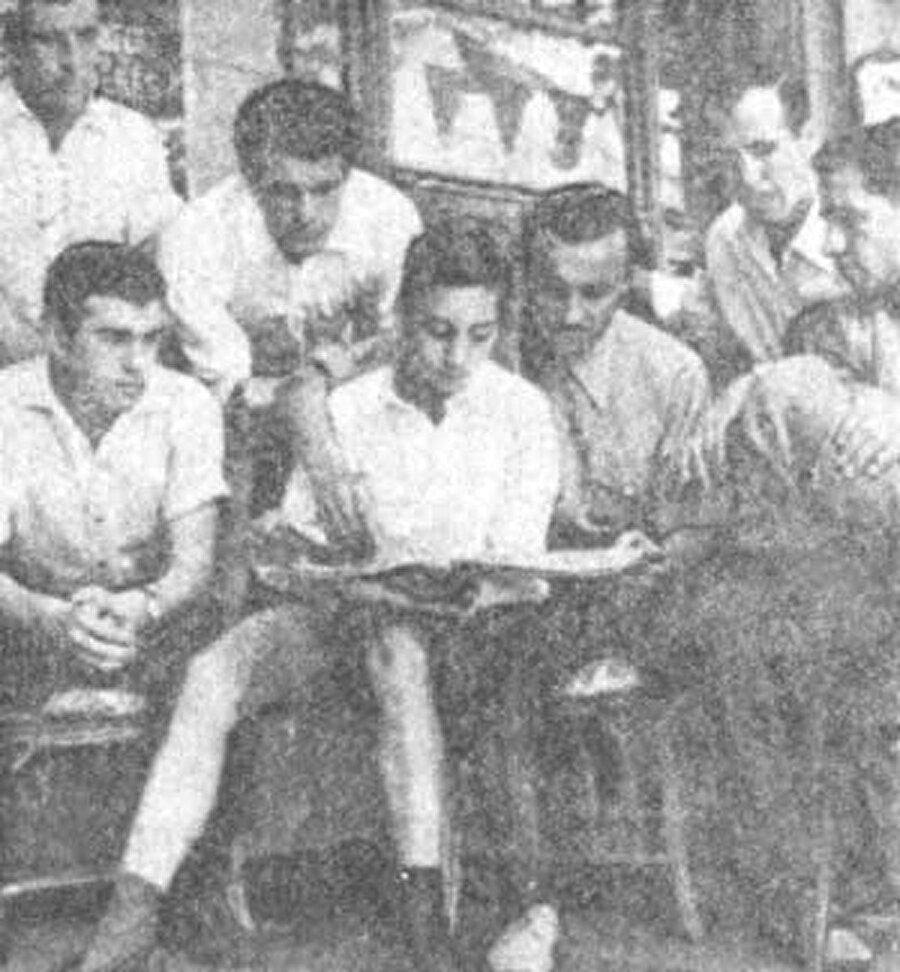 Luigi Franco Gemma, dönemin Milli Takım oyuncularıyla beraber.