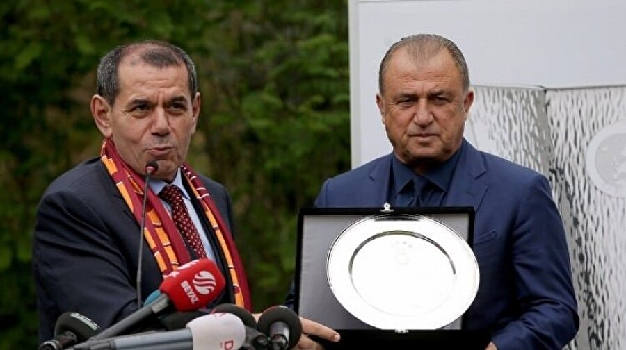 Dursun Özbek'in ilk tercihi Fatih Terim'di.