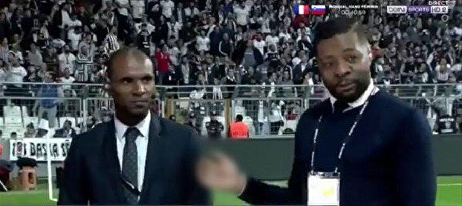 Görüntüler Fransa BeIN Sports yayınından alınmıştır