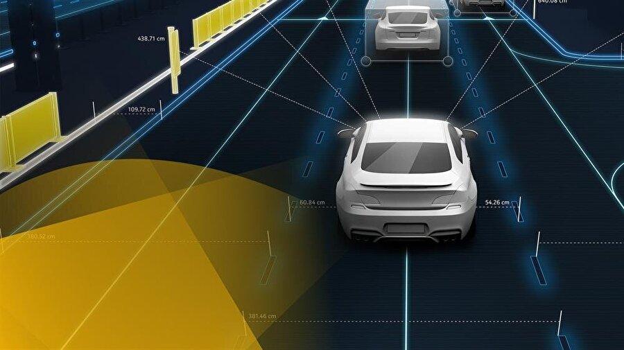 LIDAR sensörler her türlü hava koşulunda tam performans sağlıyor. Böylece yağmur ve kar olduğunda dahi otomobile yerleştirilen sensörler sorunsuz bir şekilde görev yaparak çevredeki nesneleri algılayabiliyor.