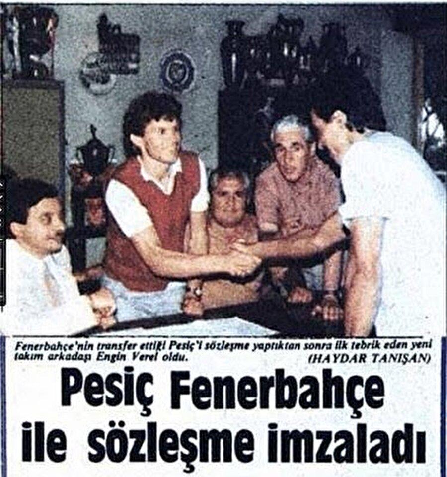 Fenerbahçe uzun yıllar birçok Yugoslav futbolcu transfer etti.