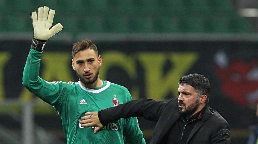 Gennaro Gattuso oyuncusunu teselli etti.