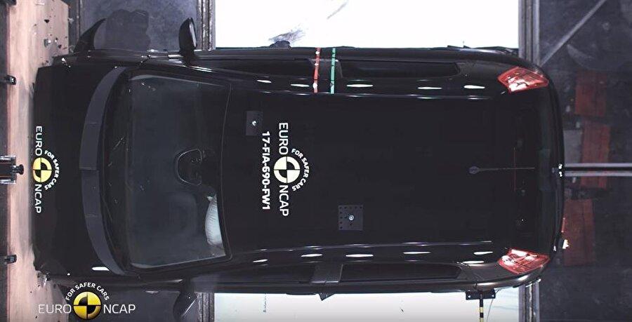 FIAT Punto'nun bu puanı almasının asıl sebebi ise temel güvenlik teknolojilerini içermiyor oluşu.