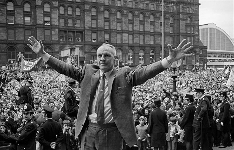 Efsanevi Liverpool menajeri Bill Shankly