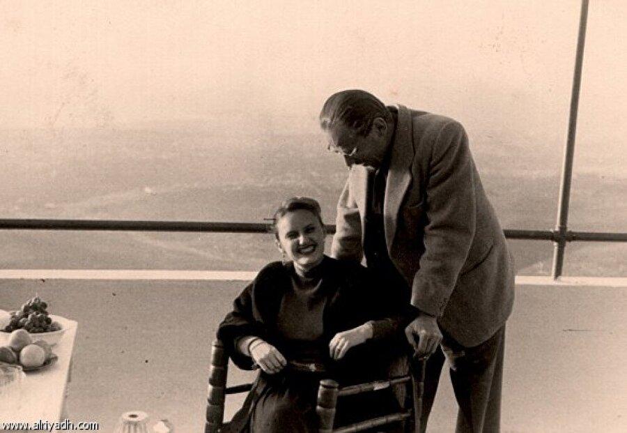 Muhammed Esed ve eşi Hamide Esed