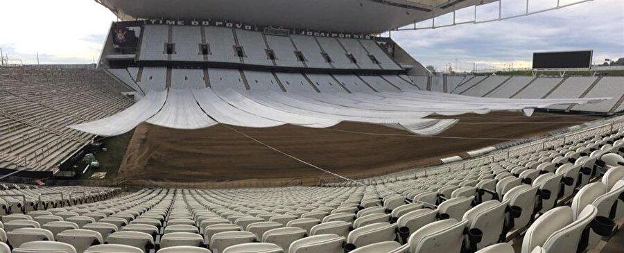 Arena Corinthians yeni sezona hazırlanıyor.