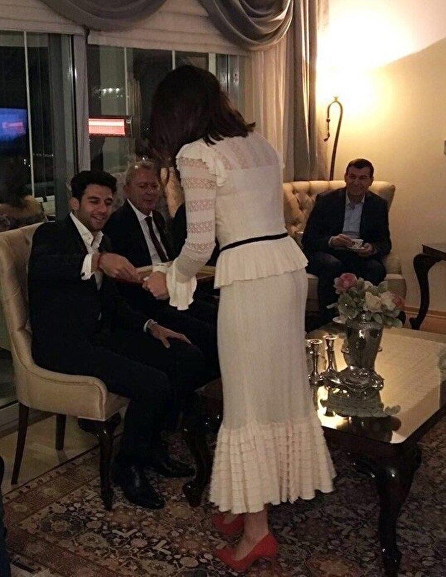 Fenerbahçeli İsmail Köybaşı, nişanlandı.