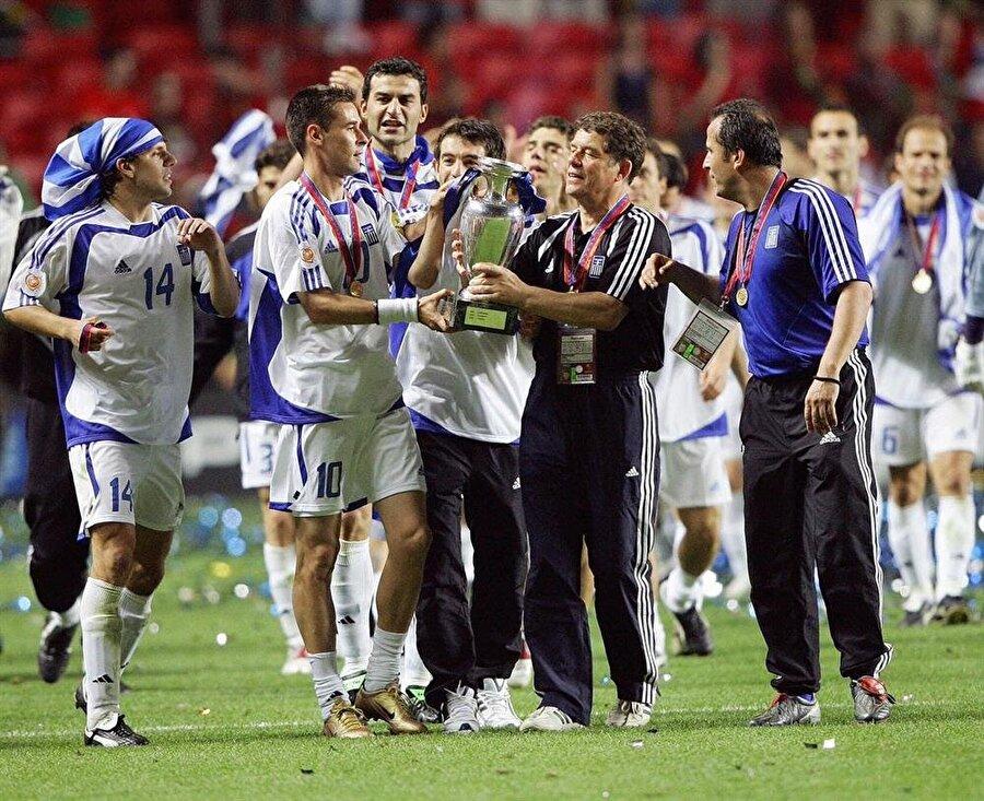 Otto Rehhagel ile Yunanistan'ın 2004 Avrupa Şampiyonluğu