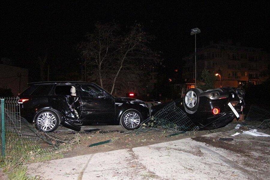 Kaza sonrası görüntüler...