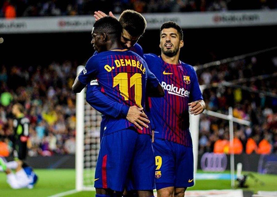Ousmane Dembele'nin sakatlığı Barcelona'nın planlarını alt üst etti.
