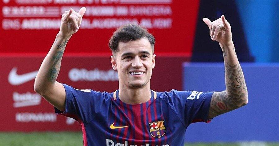 Coutinho transferi bonservis bedeli nedeniyle Barcelona tarihine geçti.