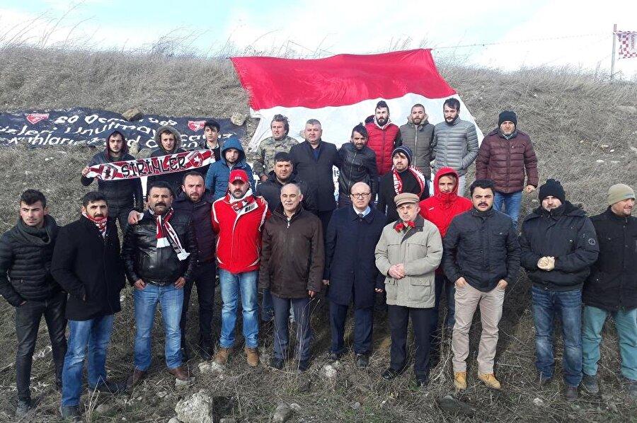 Samsunsporlu taraftarlar 20 Ocak'ı unutmadı.