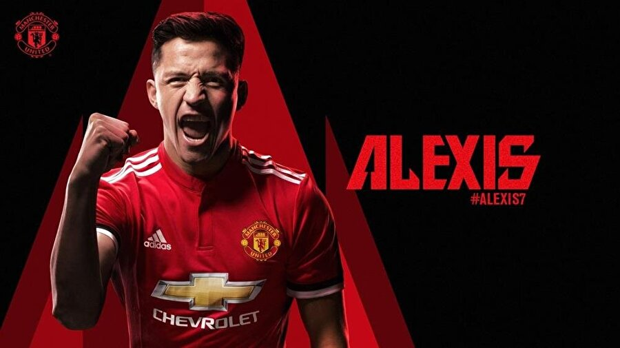 Alexis Sanchez resmen Manchester United'da.