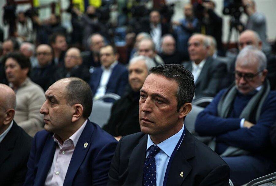 Divan kurulu toplantısına Ali Koç da katıldı.