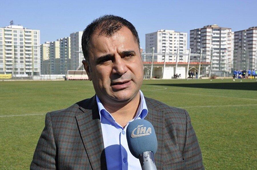 Amed Sportif Faaliyetler Kulüp Başkanı Nurullah Edemen