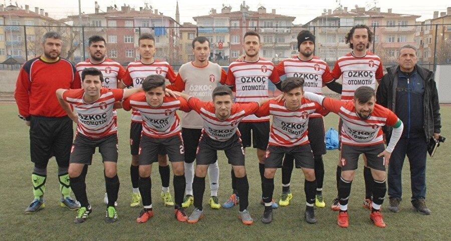 Argıncık Esnafspor, Kayseri Birinci Amatör Küme'de mücadele ediyor.