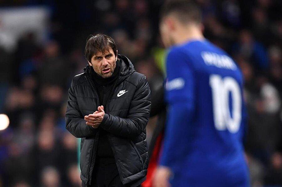 Conte, Chelsea'nin başarısı için her şeyi yaptığını söyledi.
