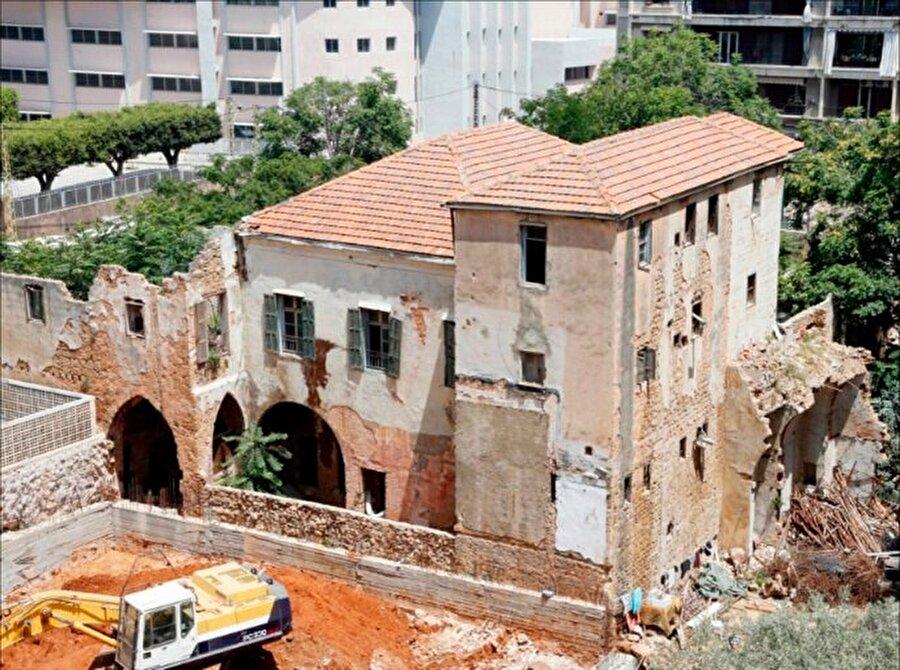 Lübnanlı diva Feyruz'un çocukluğunu geçirdiği ev.