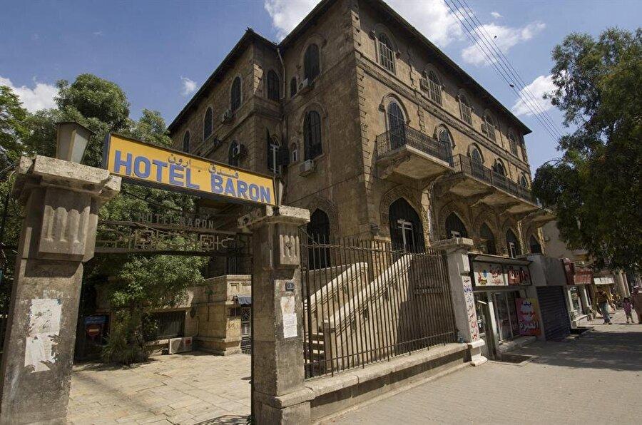 Birçok ünlüyü ağırlayan Baron Otel, bir zamanlar sadece Halep'in değil bütün Ortadoğu'nun en ünlü oteliydi.