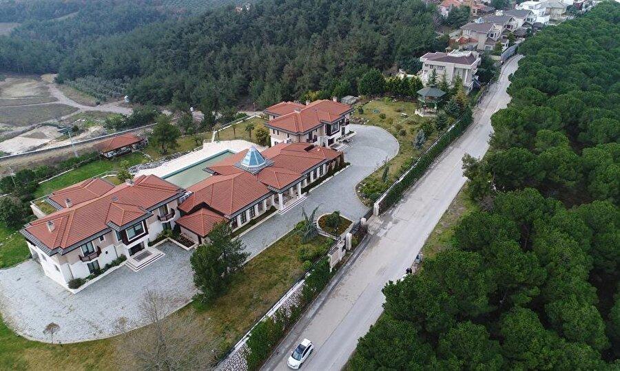 FETÖ ele başı Fethullah Gülen için yapıldığı iddia edilen malikaneye el konuldu.