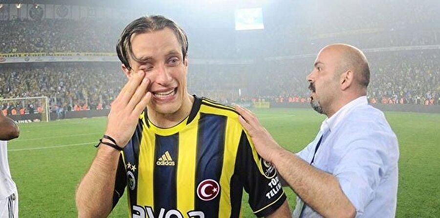 Fenerbahçe şampiyonluğu yitirdiğinde Reto Ziegler hüngür hüngür ağlamıştı.
