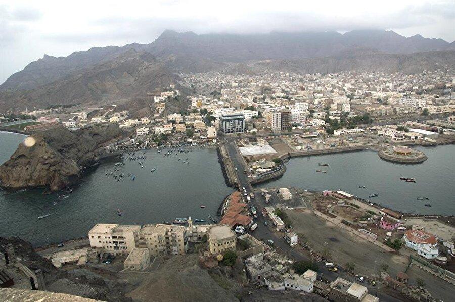 Kraliçe Erva'ya mehir olarak verilen Aden şehrinin bugünkü hali.