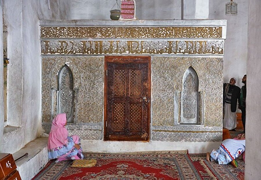 Kraliçe Erva'nın Cibla'daki ulu caminin içinde bulunan kabri.