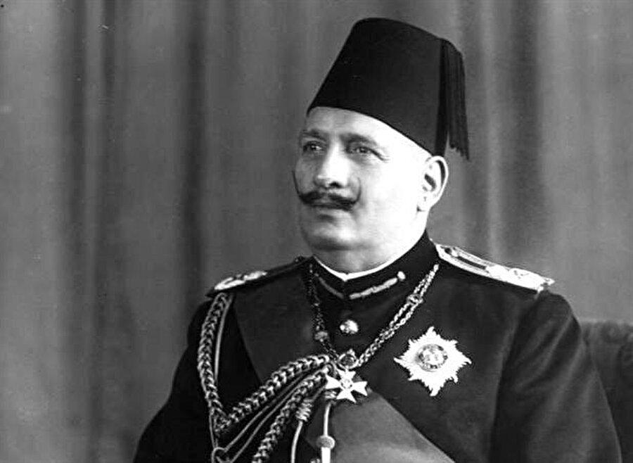 Prenses Fevziye'nin babası Mısır Kralı Fuad.