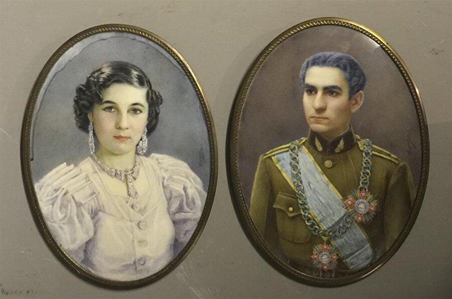 Prenses Fevziye ve Muhammed Rıza Pehlevi