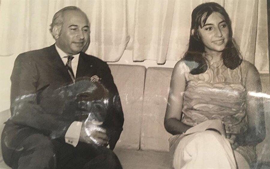 Zülfikar Ali Butto ve Benazir Butto