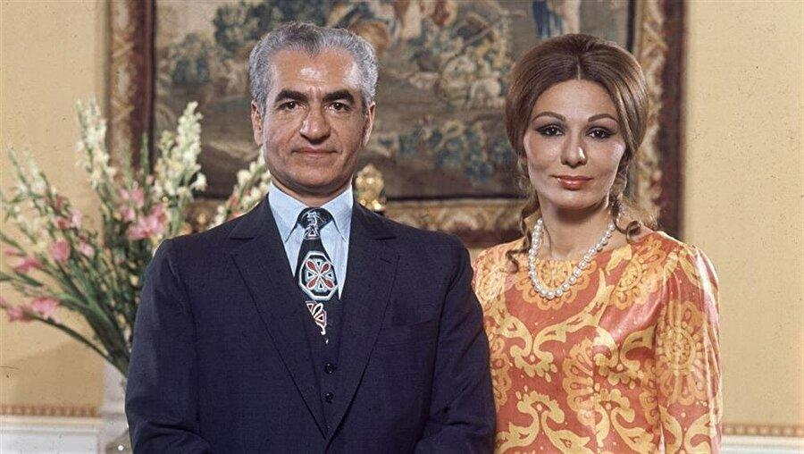 Muhammed Rıza Pehlevi ve Farah Pehlevi