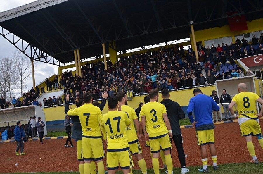 Fatsa Belediyespor şampiyonluğa yürekten inanıyor.
