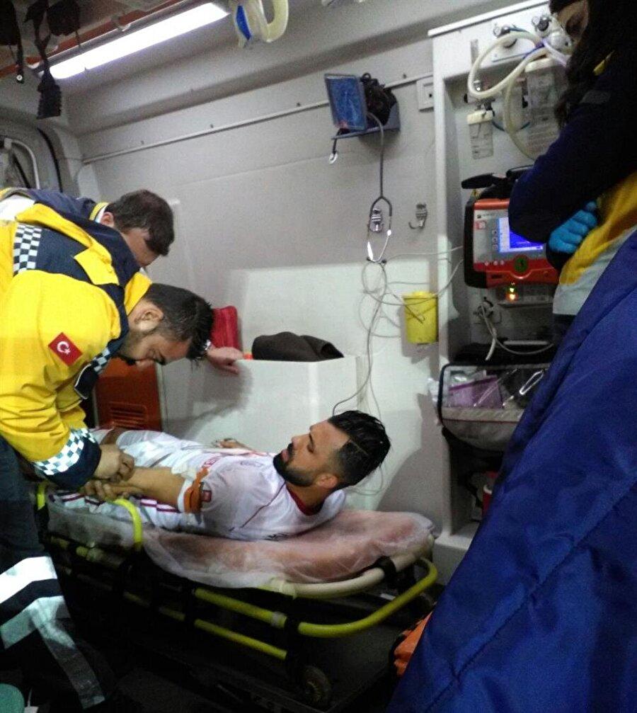 Hasan Hatipoğlu kalp çarpıntısı nedeniyle hastaneye kaldırıldı.