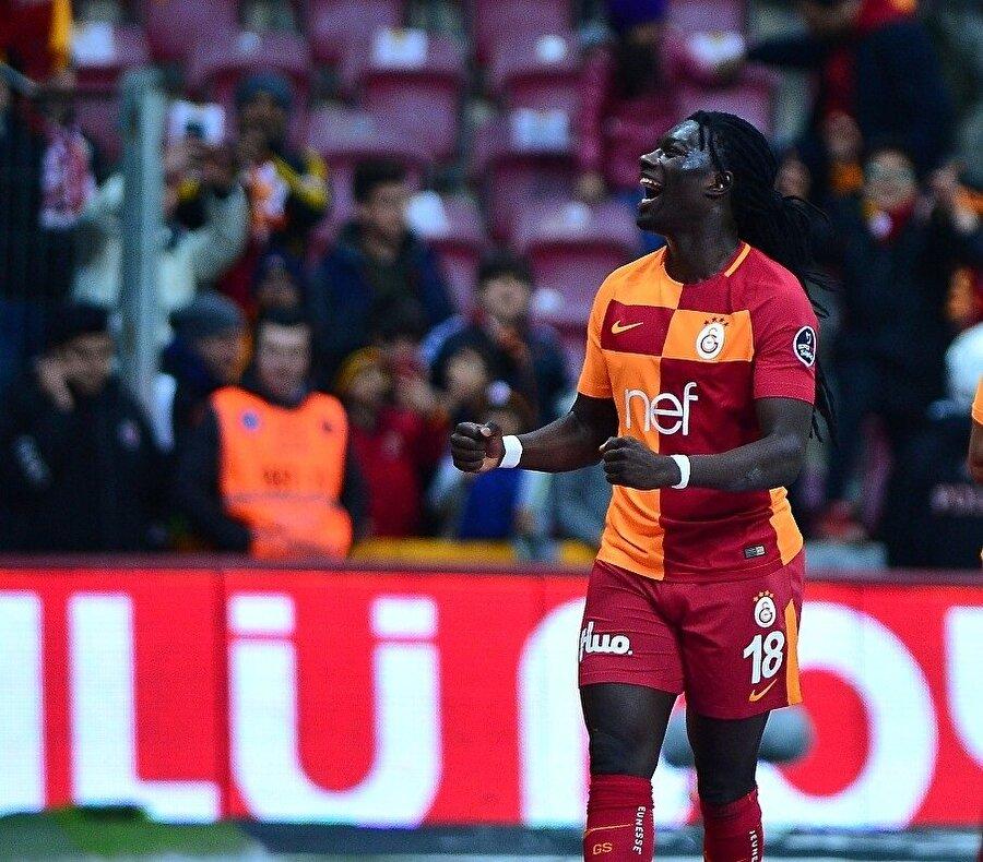 Gomis, geçtiğimiz hafta Galatasaray'ın Kasımpaşa'ya 2-1 mağlup olduğu maçta baygınlık geçirmişti. (Fotoğraf: İHA)