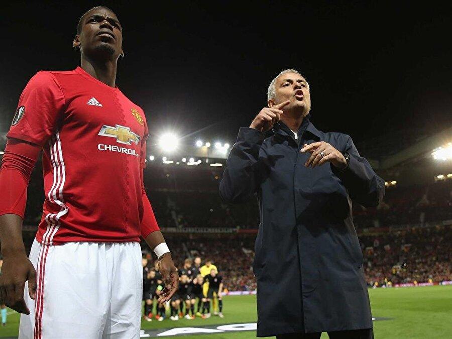 Mourinho'nun Pogba'yı sert bir dille uyardığı gelen haberler arasında.