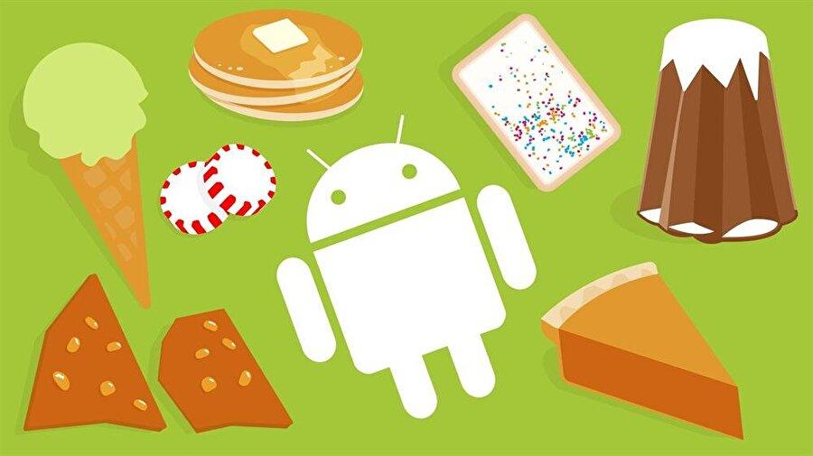 Android P'nin büyük ihtimalle Pancake olarak isimlendirilmesi bekleniyor.