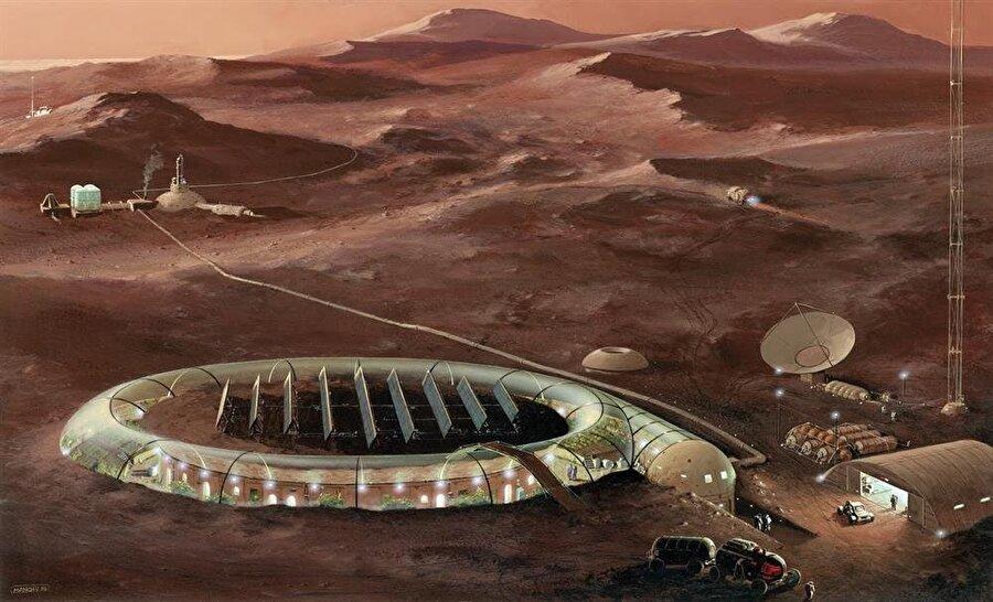 Mars yolculuğu için ilk testler gelecek sene başlıyor.
