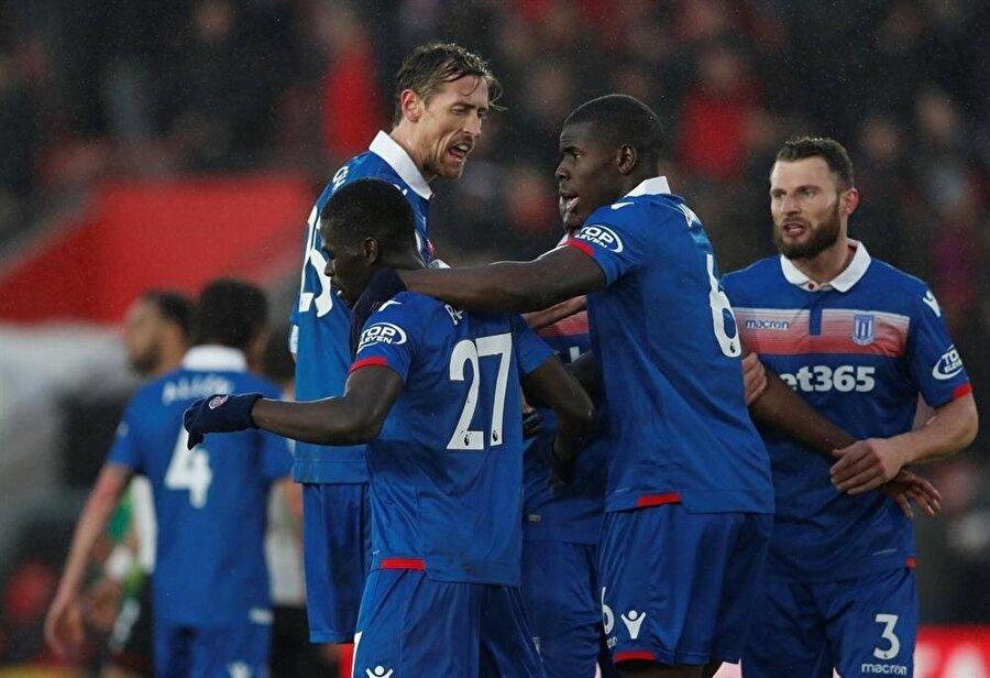 Badou N'diaye devre arasında 16 milyon avro bedelle Stoke City'ye transfer oldu.