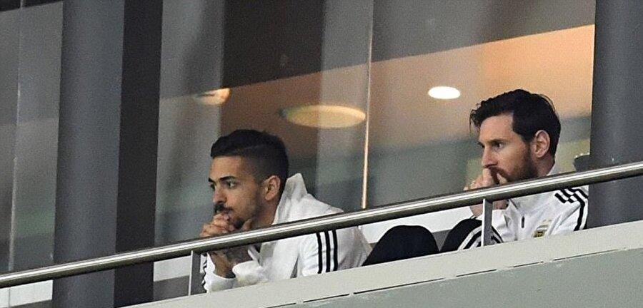 6-1'lik mağlubiyet Messi'yi çileden çıkardı.