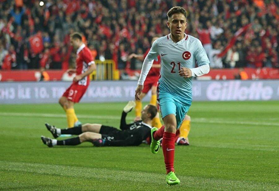 Emre Mor hastalığı nedeniyle milli formayı son iki maçta giyemedi.