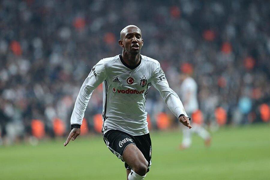 Beşiktaş, Alanyaspor engelini Talisca'nın golüyle aştı. (Fotoğraf: AA)