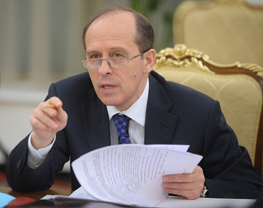 Rusya Federal Güvenlik Servisi (FSB) Başkanı Aleksandr Bortnikov