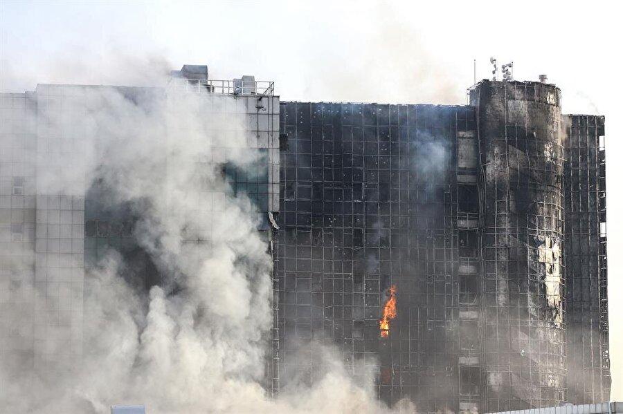 Taksim Eğitim ve Araştırma Hastanesi'nde yangın çıktı.
