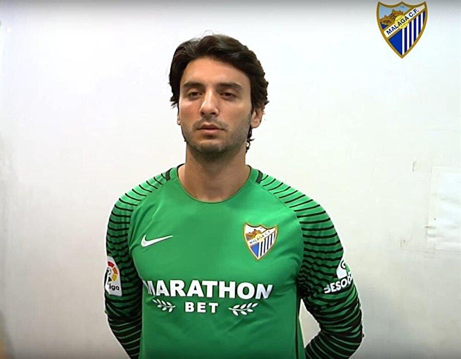 Cenk Gönen, La Liga'da forma giyemeden Malaga küme düştü.