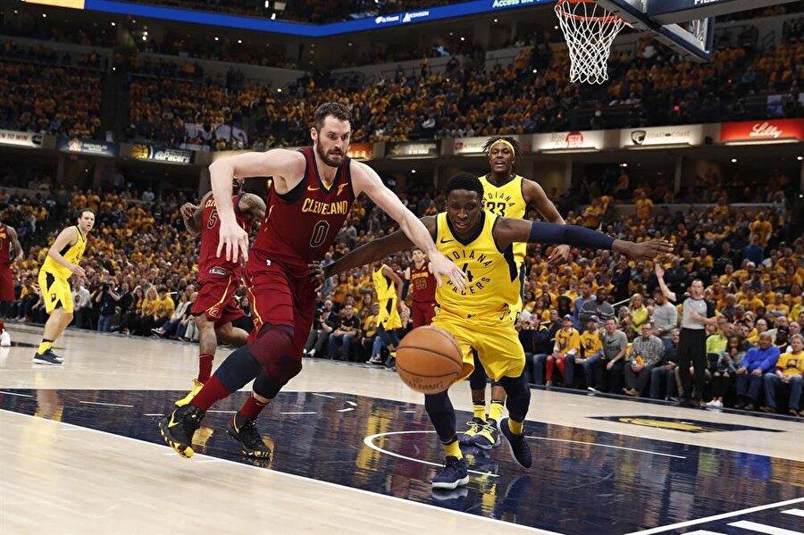 nPacers, Cavaliers karşısında 2-1 öne geçti. nFotoğraf: Reuters